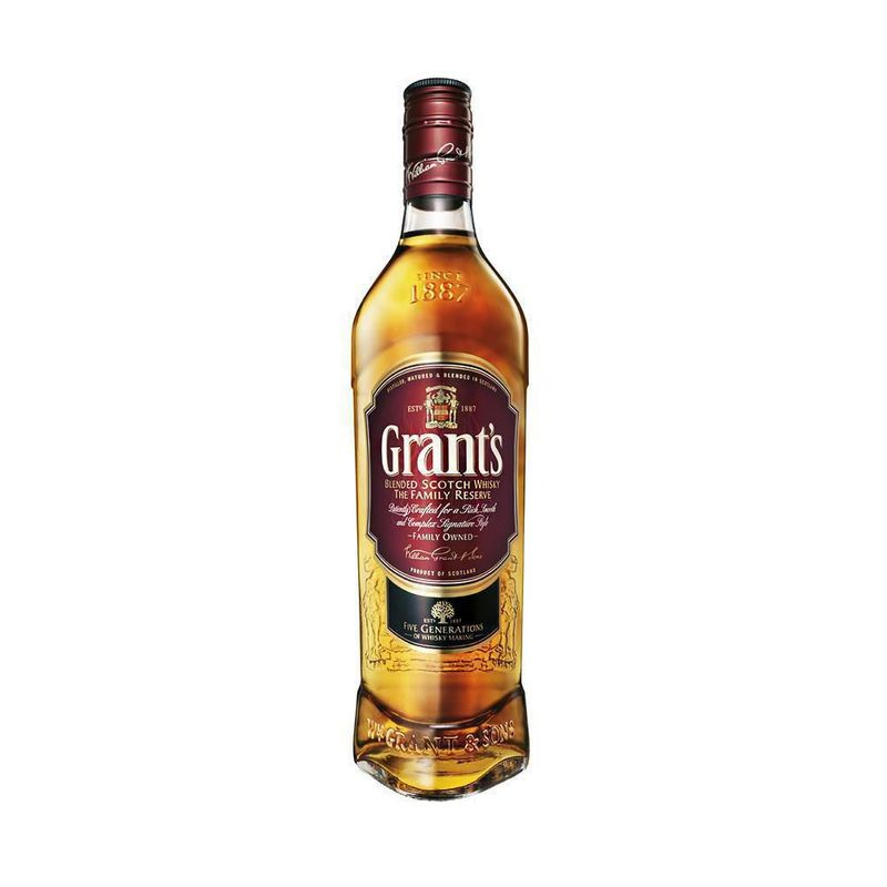 Whisky Grants Litro 8 Años X 1000ml - GRANT S