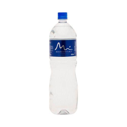 Agua manantial natural x 1500 ml