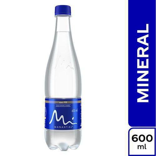 Agua manantial pet x 600 ml