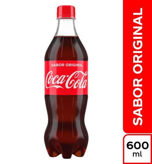 Gaseosa Coca Cola Pet 600 ml