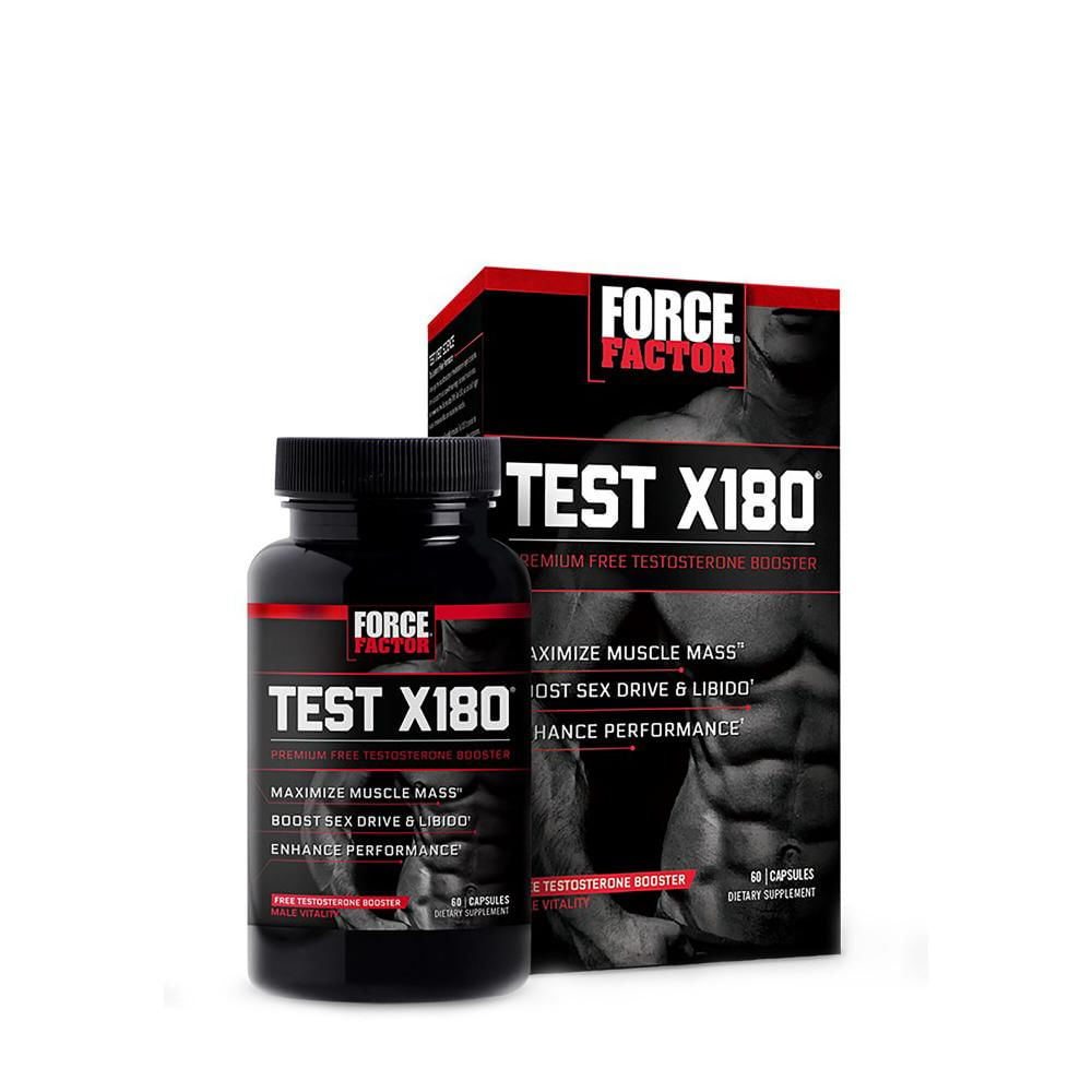 Force Factor Test X 180 Precursor de testosterona Éxito - exito.com