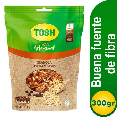 GRANOLA AVENA TOSH 300 Gramo