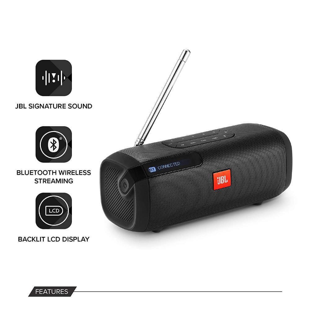 Parlante Jbl Tuner Recargable Con Radio Fm Portable éxito Exito Com