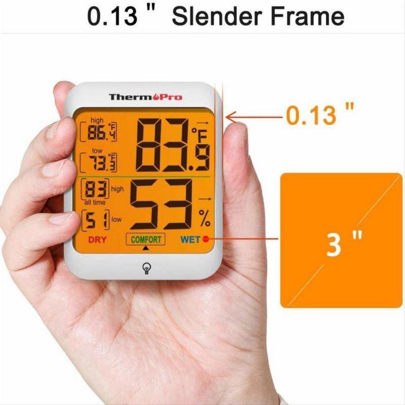 Termometro Digital De Temperatura Y Humedad Para Interiores Exito Exito Com También podremos obtener los registros de temperaturas máximas y mínimas y humedad relativa de lo últimos periodos de medición, con lo que si te encuentras a algún vecino bajando en el ascensor podrás hacerle un resumen totalmente fiable de la evolución meteorológica de la semana hasta llegar. termometro digital de temperatura y humedad para interiores