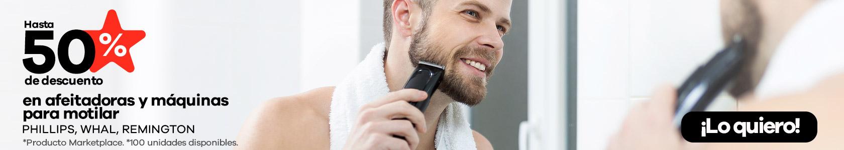 afeitadoras y máquinas para motilar