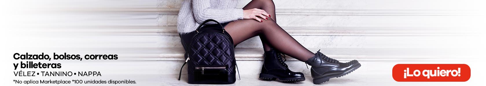 Calzado, bolsos, correas y billeteras