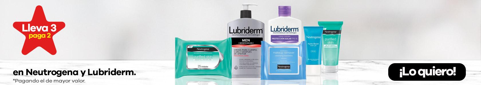 Neutrogena y Lubriderm