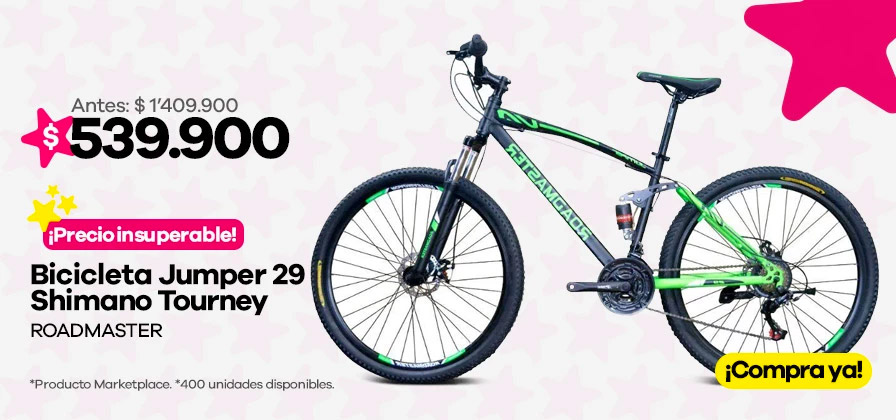 Bicicleta Roadmaster Jumper 29 Shimano
