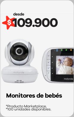 Monitores de bebé