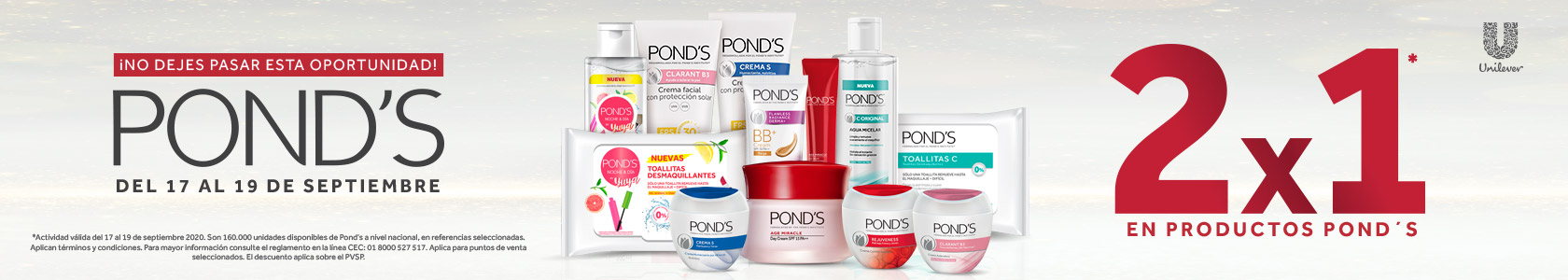 Ponds 2x1