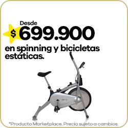 Spinning y bicicletas estáticas
